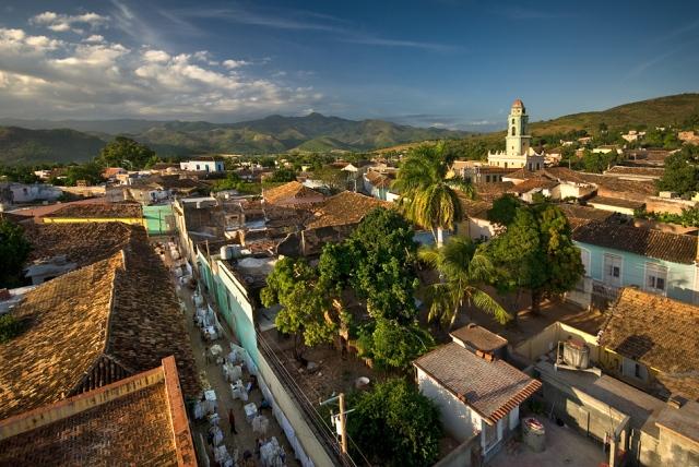 Villa colonial de Trinidad en Cuba