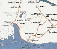 Invasión Girón mapa
