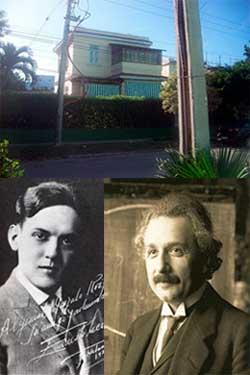Einstein y Lecuona en La Timba, 1930